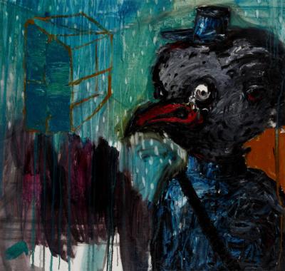 A chicken's nightmare II by Ioana Olăhuț